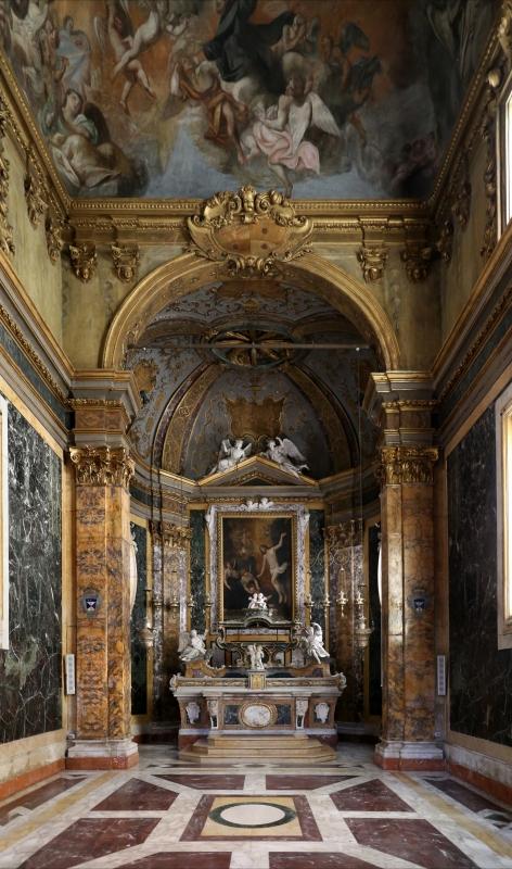 Forlì, santa maria dei servi o san pellegrino, interno, cappella di s. pellegrino laziosi, di giuseppe merenda, 01 - Sailko - Forlì (FC)