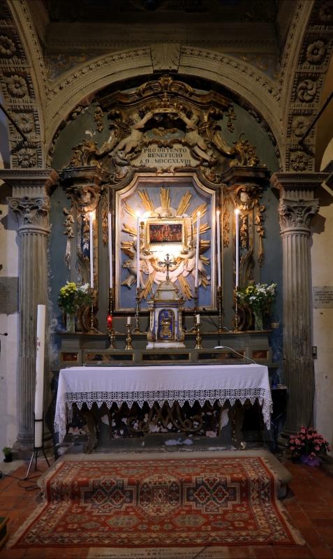 Pianetto (galeata), santa maria dei miracoli, interno, tempietto della madonna 01 - Sailko - Galeata (FC)