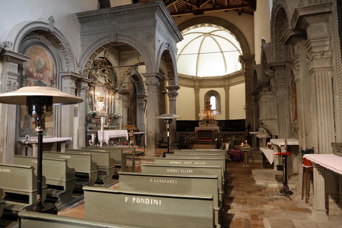 Pianetto (galeata), santa maria dei miracoli, interno 02 - Sailko - Galeata (FC)