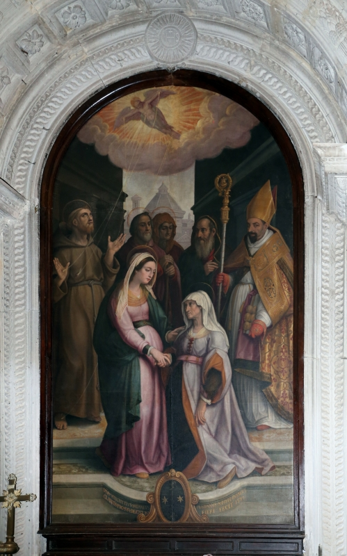 Stradano, visitazione, 1599, 02 - Sailko - Galeata (FC)