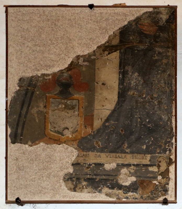 Pianetto (galeata), santa maria dei miracoli, internom, affreschi staccati 01 - Sailko - Galeata (FC)