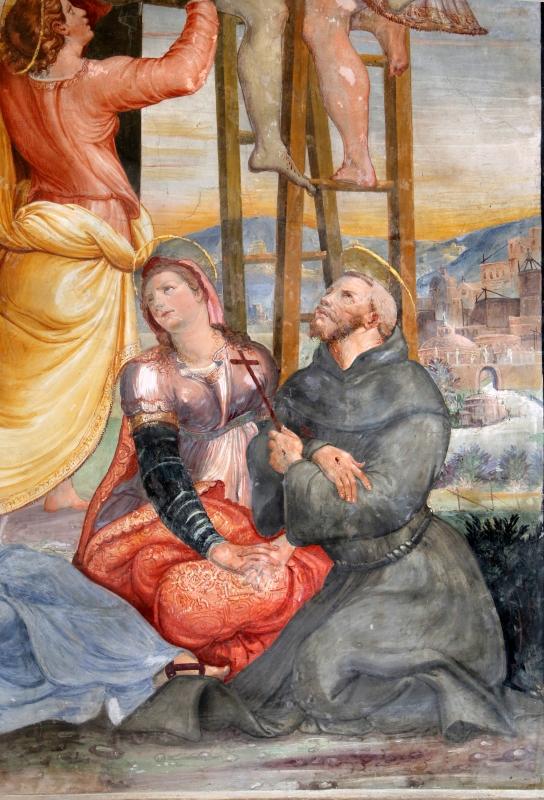 Scuola del vasari, deposizione dalla croce, 1550-1600 ca. 09 - Sailko - Galeata (FC)