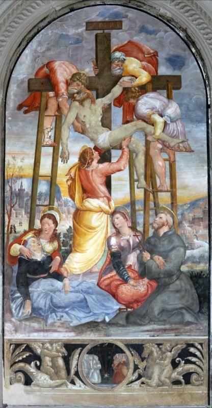 Scuola del vasari, deposizione dalla croce, 1550-1600 ca. 02,2 - Sailko - Galeata (FC)