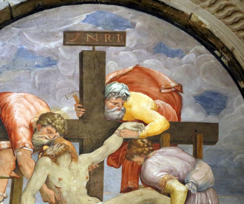 Scuola del vasari, deposizione dalla croce, 1550-1600 ca. 05 - Sailko - Galeata (FC)