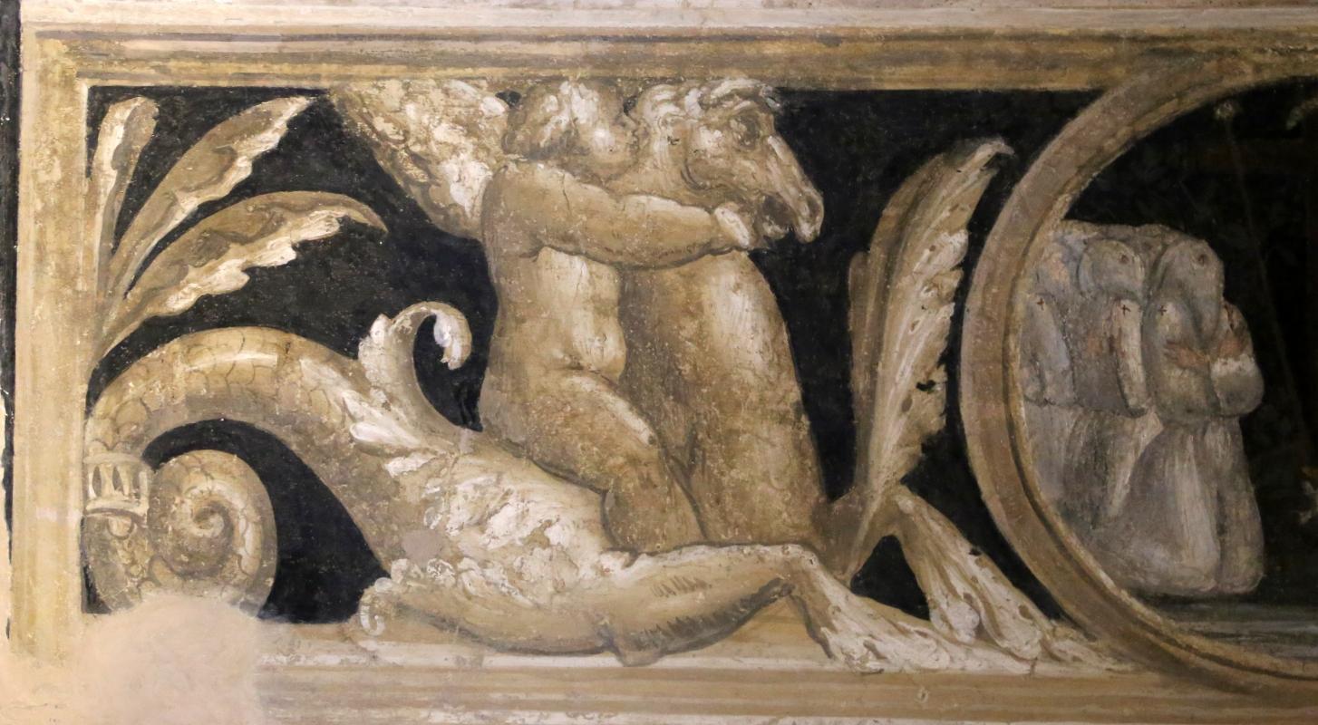 Scuola del vasari, deposizione dalla croce, 1550-1600 ca. 13 cavalli marini - Sailko - Galeata (FC)