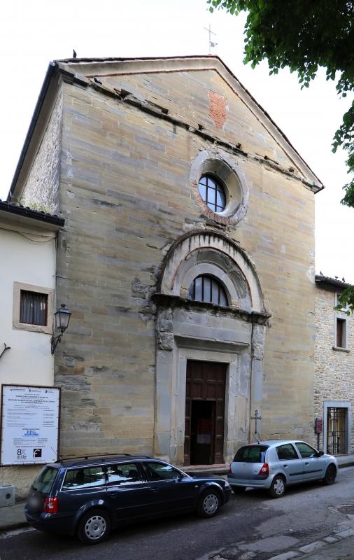 Pianetto (galeata), santa maria dei miracoli, esterno, attr. a francesco di giorgio, 00 - Sailko - Galeata (FC)
