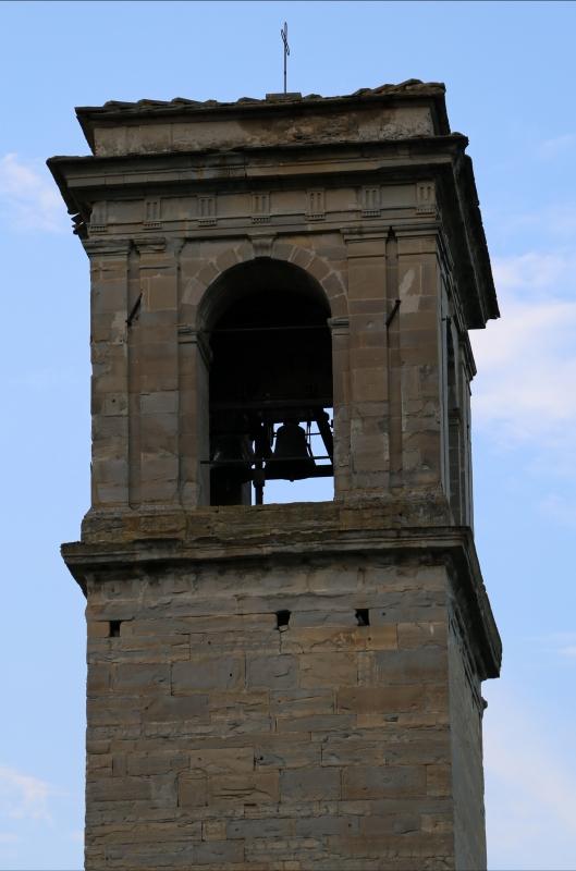 Pianetto (galeata), santa maria dei miracoli, esterno, campanile attr. all'ammannati, 03 - Sailko - Galeata (FC)