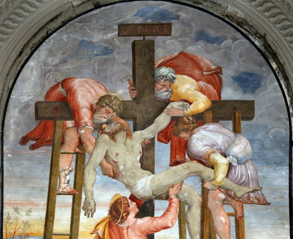 Scuola del vasari, deposizione dalla croce, 1550-1600 ca. 03 - Sailko - Galeata (FC)