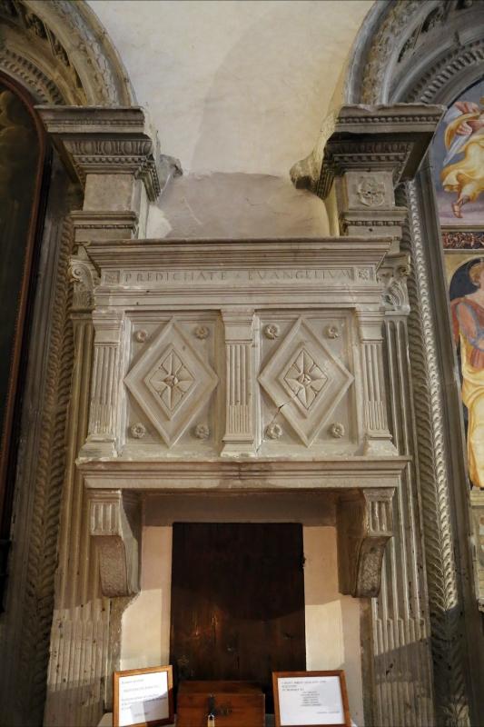 Pianetto (galeata), santa maria dei miracoli, interno 07 pulpito - Sailko - Galeata (FC)
