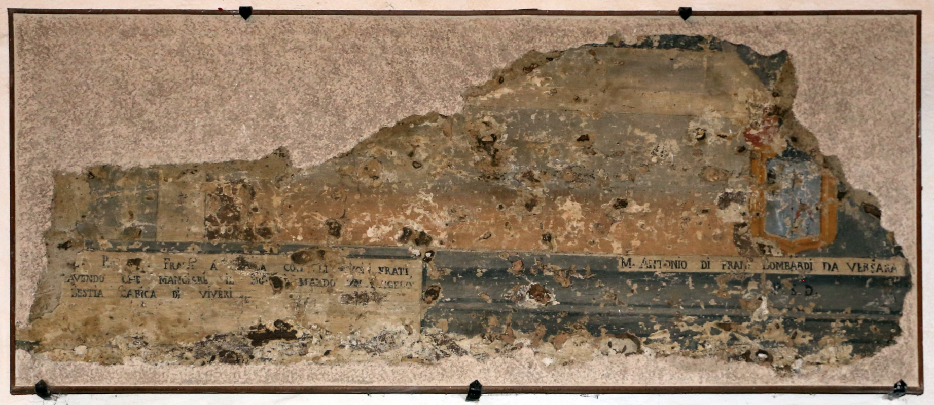 Pianetto (galeata), santa maria dei miracoli, internom, affreschi staccati 02 - Sailko - Galeata (FC)