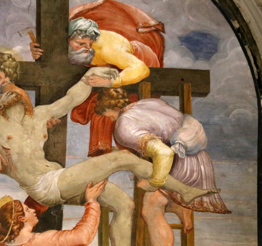 Scuola del vasari, deposizione dalla croce, 1550-1600 ca. 06 - Sailko - Galeata (FC)