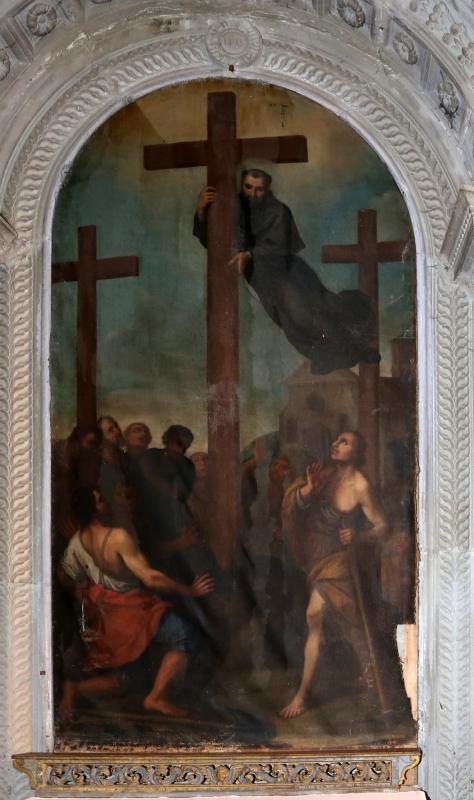Scuola toscana o romagnola, scena miracolosa, xviii secolo 02 - Sailko - Galeata (FC)