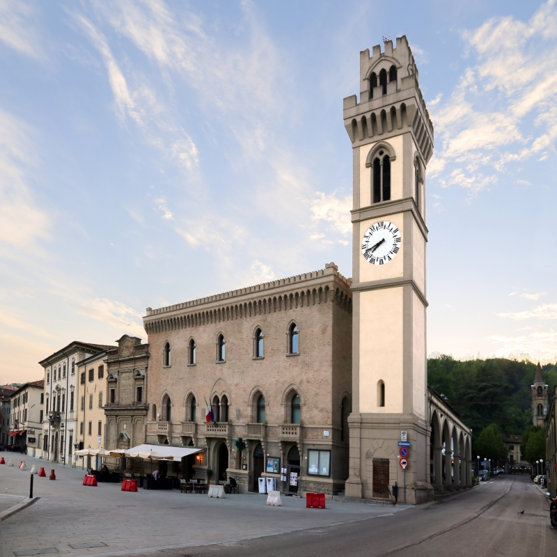 Santa sofia, palazzo comunale 00 - Sailko - Santa Sofia (FC)