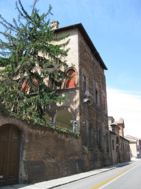 Museo Archeologico Nazionale, prospetto esterno - Sofiadiviola - Ferrara (FE)