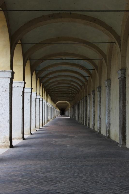 Prospettiva del Loggiato dei Cappuccini - Maria Chiara Grasso - Comacchio (FE)