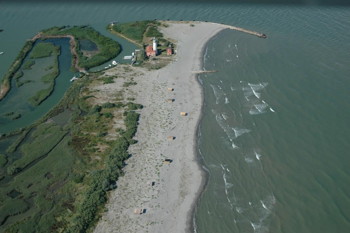Faro di Goro in volo - Cristiano Bottarelli - Goro (FE)