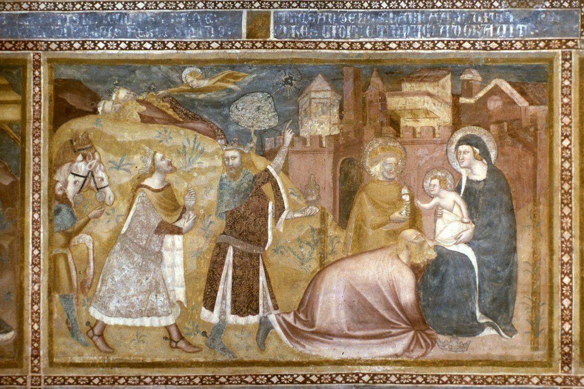 Abbazia di Pomposa. Affreschi con storie del Nuovo Testamento - sconosciuto - Codigoro (FE)
