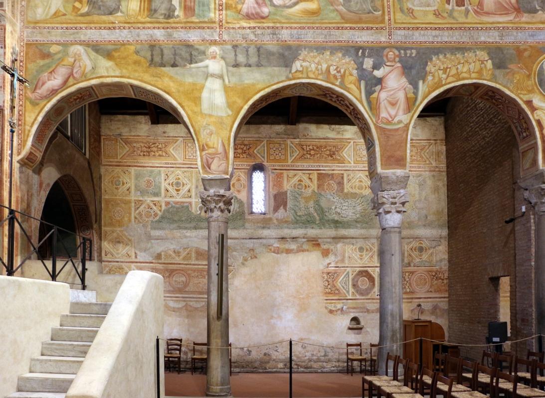 Pomposa, abbazia, interno 03, scuola bolognese, 1350 ca., - Sailko - Codigoro (FE)