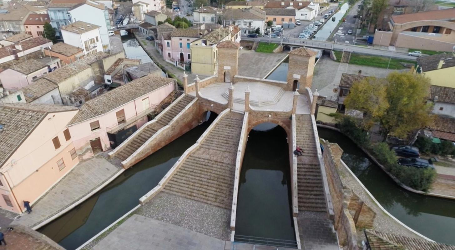 Ponte dei Trepponti, Comacchio5 - Dino Marsan - Comacchio (FE)