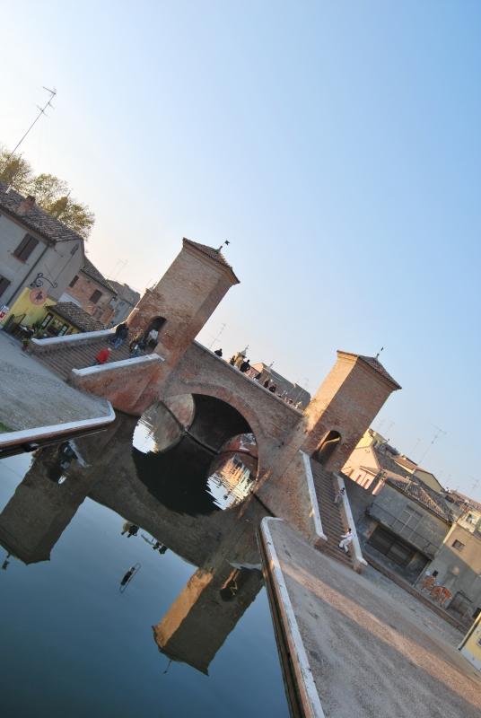 Veduta in prospettiva del Ponte dei Trepponti - Chiari86 - Comacchio (FE)