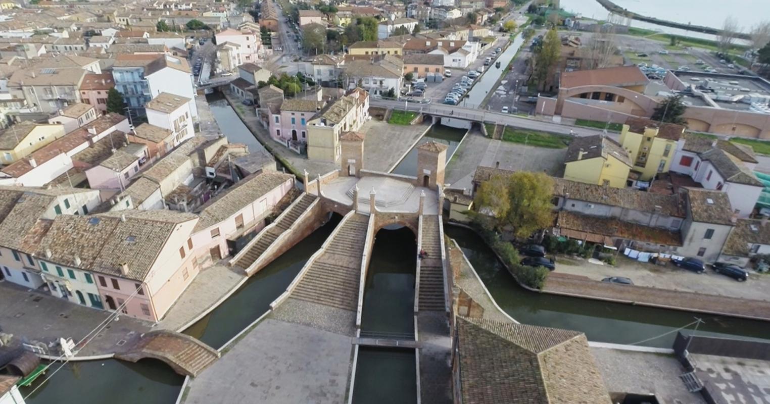 Ponte dei Trepponti, Comacchio2 - Dino Marsan - Comacchio (FE)