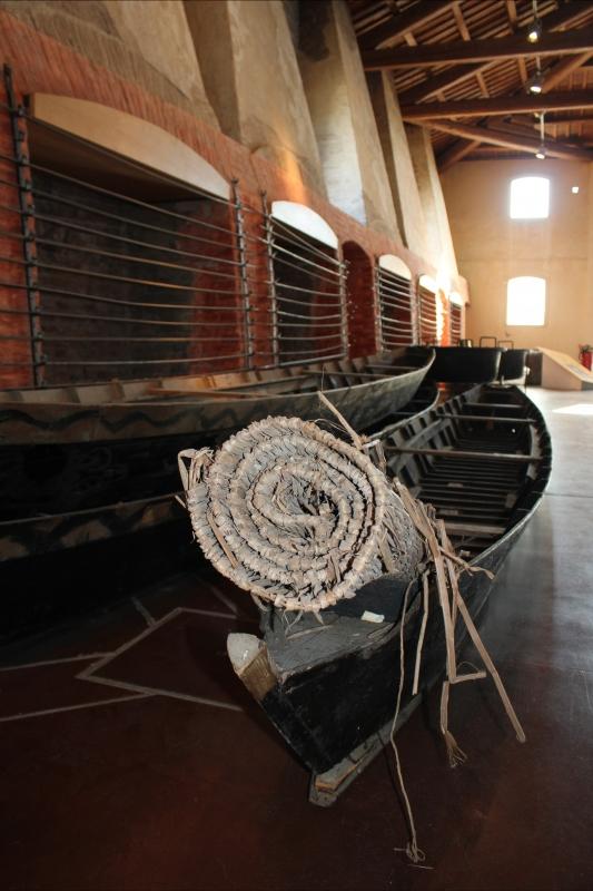 Dettaglio Sala dei Fuochi - Manifattura dei marinati - Chiara Dobro - Comacchio (FE)