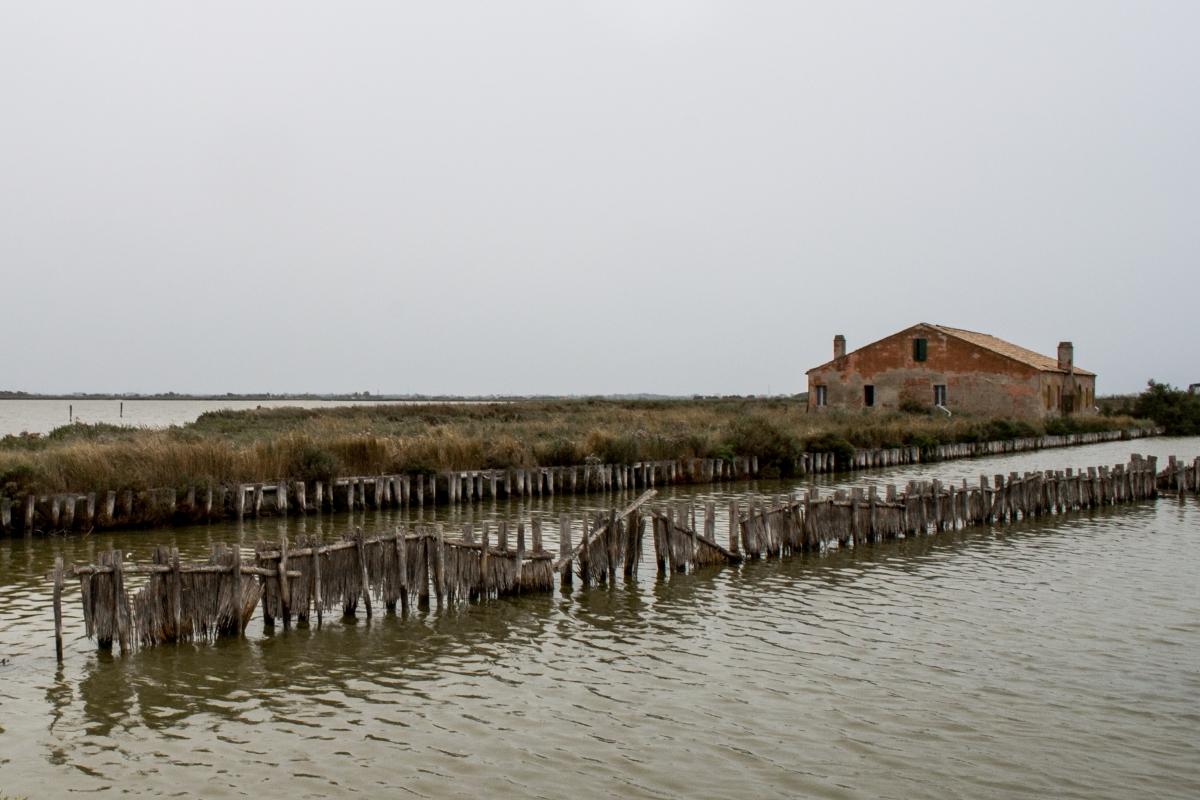 Le Valli con le antiche stazioni di pesca 2 - Paola Pedone - Comacchio (FE)