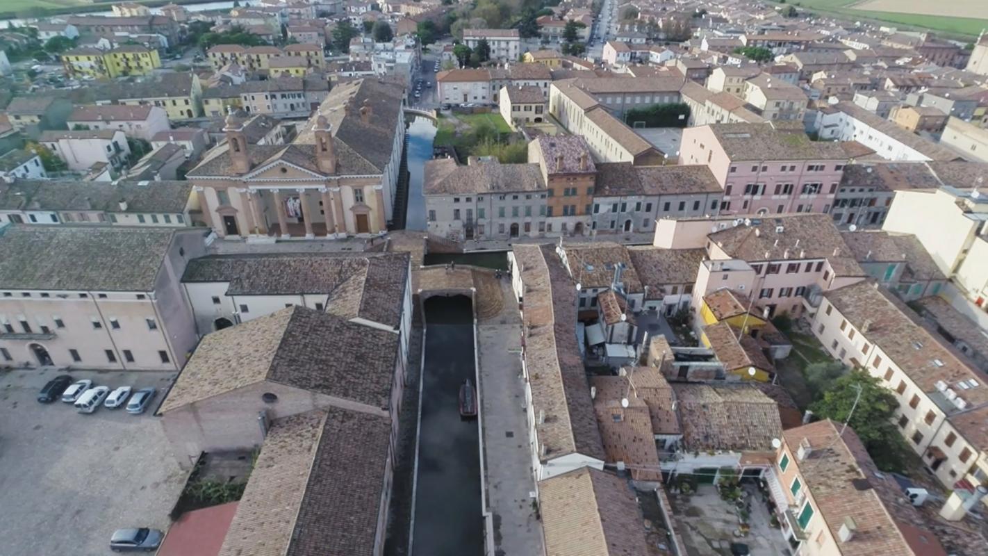 Ponte degli Sbirri a Comacchio - Dino Marsan - Comacchio (FE)