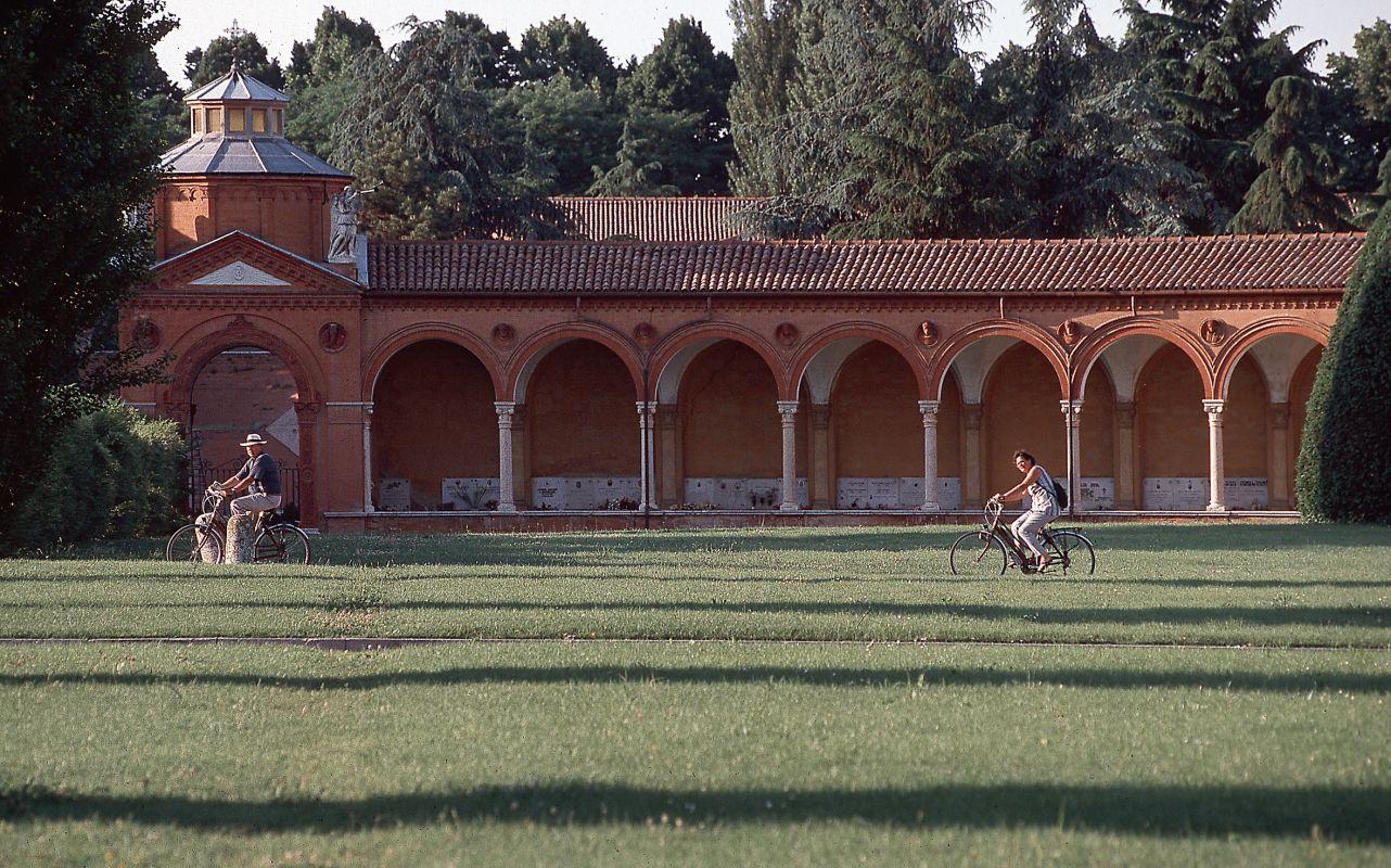 Certosa di San Cristoforo. Porticato - Baraldi - Ferrara (FE)
