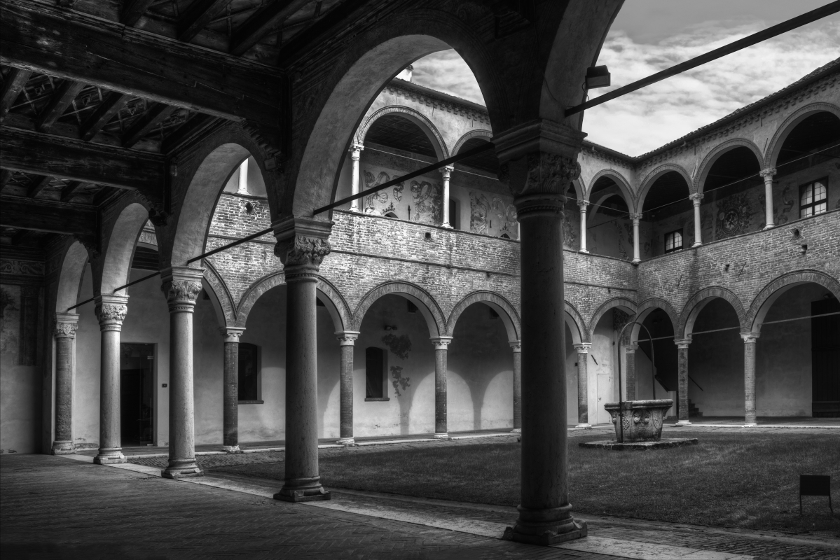Prospettiva Casa Romei - Patrizia Zontini - Ferrara (FE)