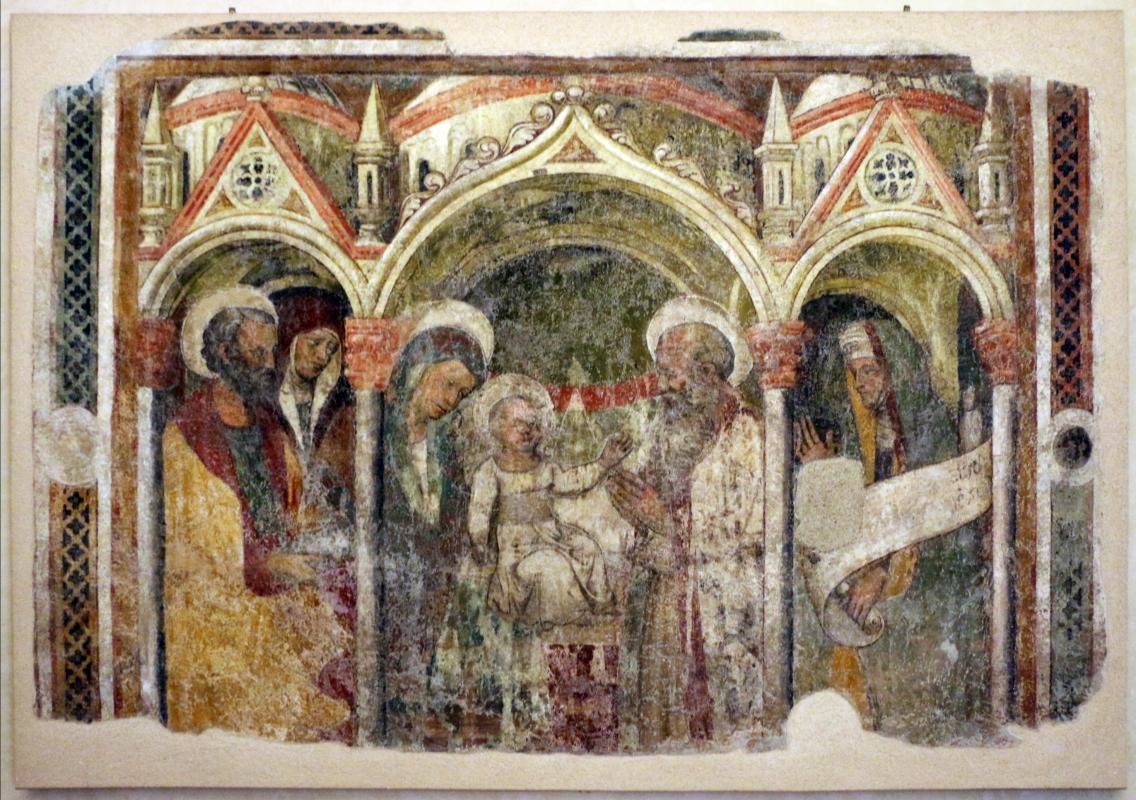 Antonio alberti (scuola), circoncisione di gesù, 1400-20 ca., da s. guglielmo a ferrara 01 - Sailko - Ferrara (FE)