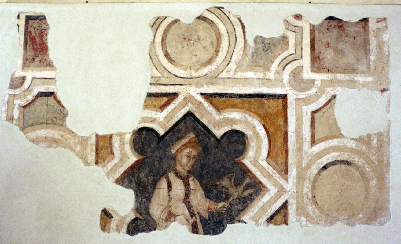 Scuola riminese, figura femminile, inizio del xv secolo, dalla ex-chiesa di s. caterina martire a ferrara - Sailko - Ferrara (FE)