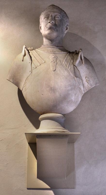 Girolamo lombardi (attr.), busto virile, dalla certosa di ferrara, xvi secolo - Sailko - Ferrara (FE)