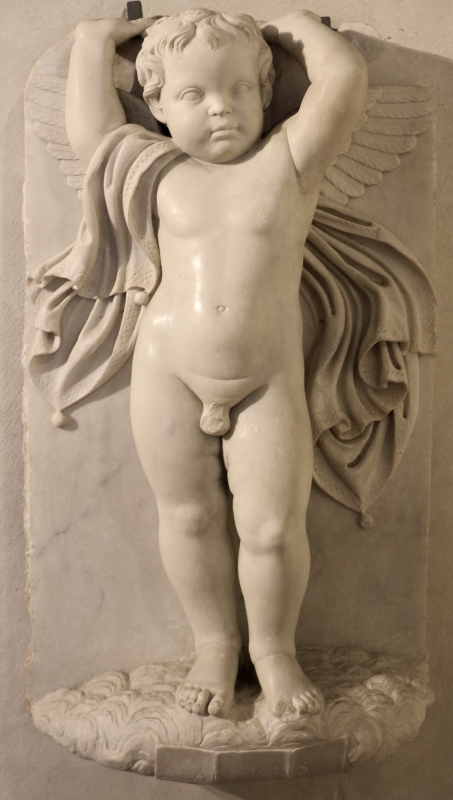 Luigi montagnana, frammenti dal monumento funeraio di romasina gruamonti estense, da s. andrea a ferrara, 1498, 03 - Sailko - Ferrara (FE)