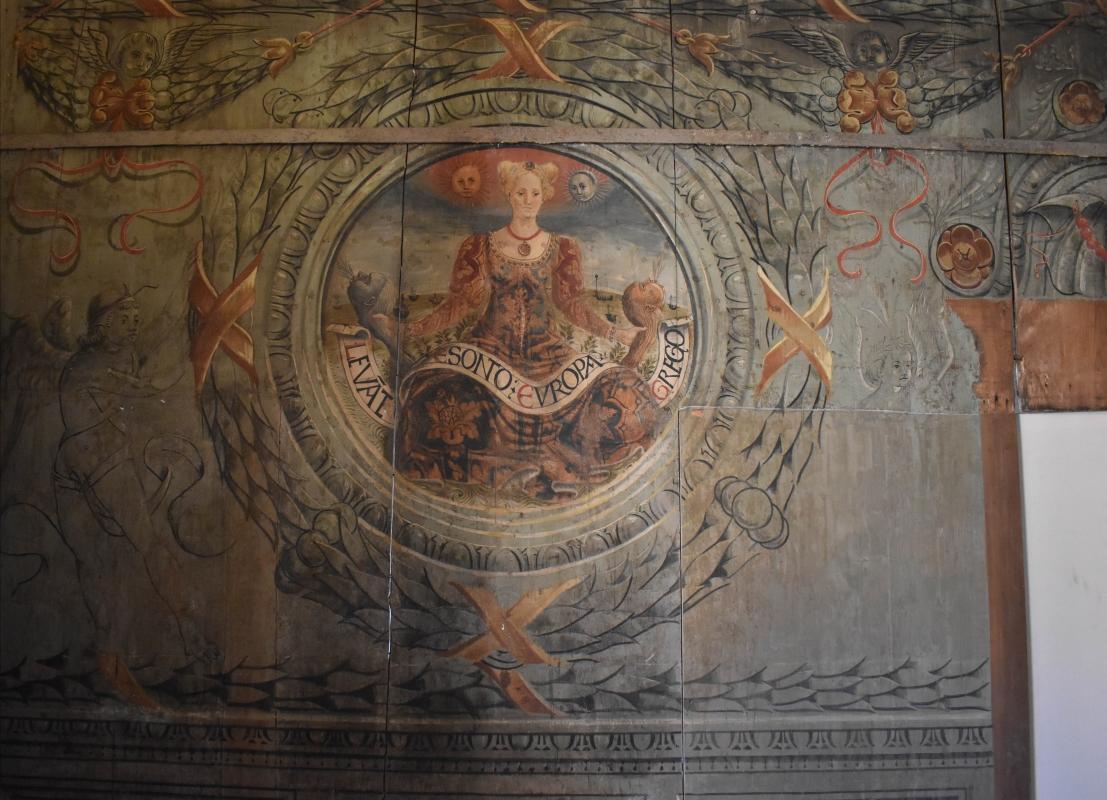 Allegoria dell'Europa Casa Romei Ferrara 01 - Nicola Quirico - Ferrara (FE)