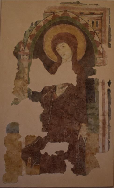 Vergine Annunciata secolo XIII museo casa Romei Ferrara - Nicola Quirico - Ferrara (FE)