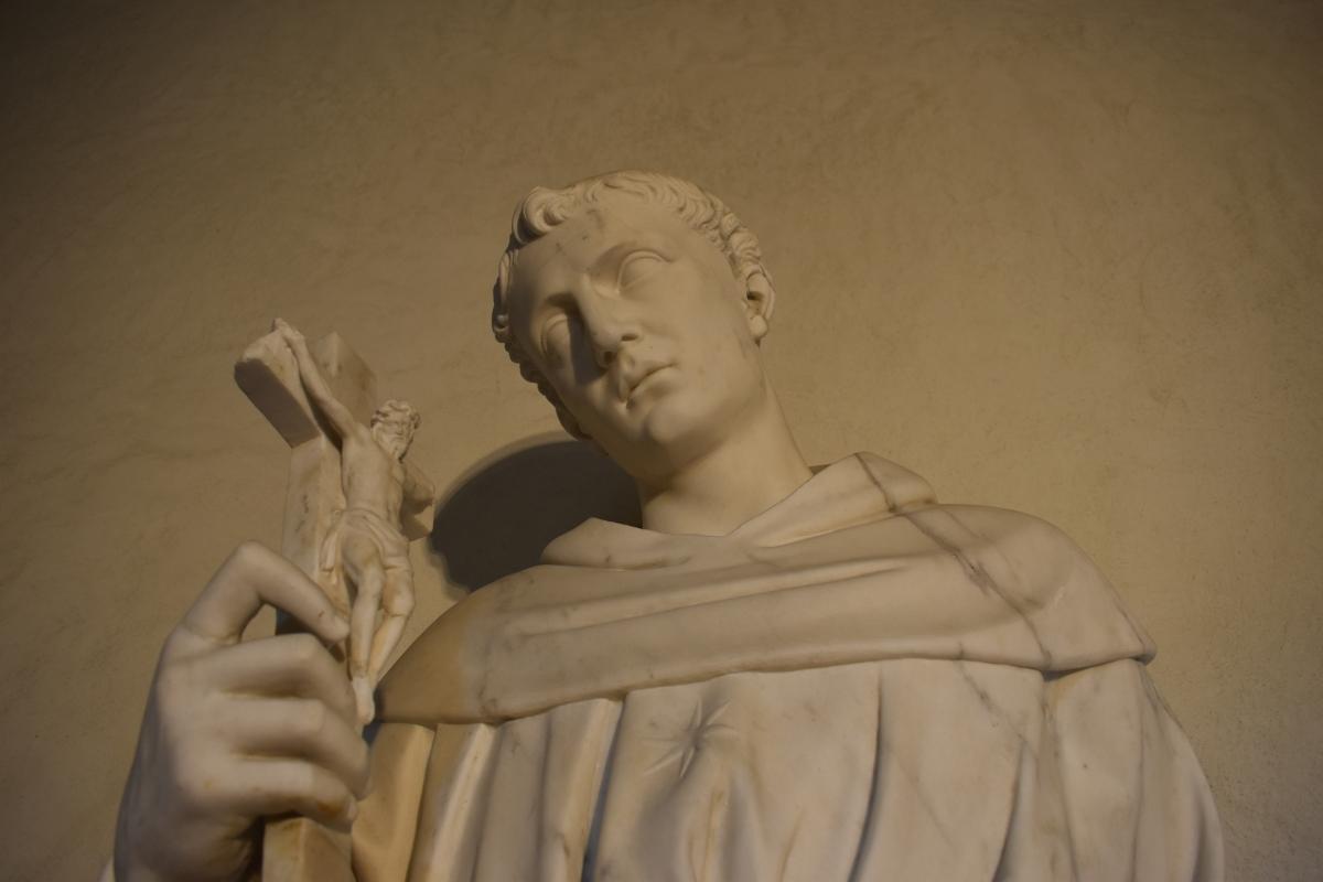 Alfonso Lombardi attribuito san Nicola da Tolentino museo casa Romei Ferrara 02 - Nicola Quirico - Ferrara (FE)