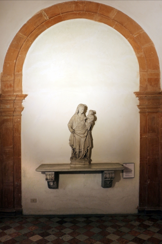 Scuola veneta, madonna col bambino, da s. maurelio (chiesa nuova) a ferrara, 1408, 01 - Sailko - Ferrara (FE)