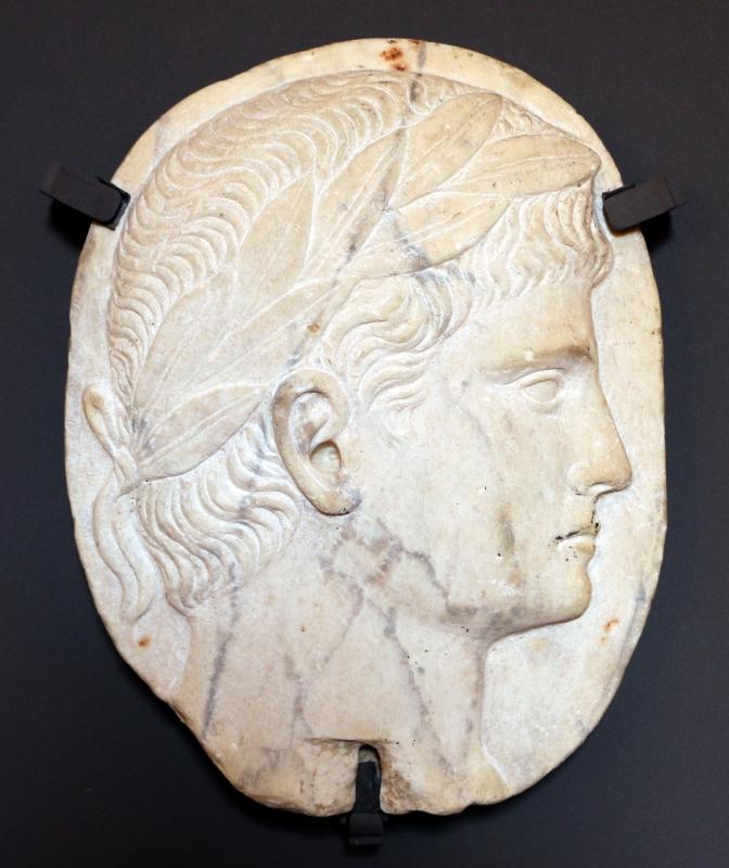 Testa di imperatore romano, xvi secolo, da palazzo dei diamanti a ferrara - Sailko - Ferrara (FE)
