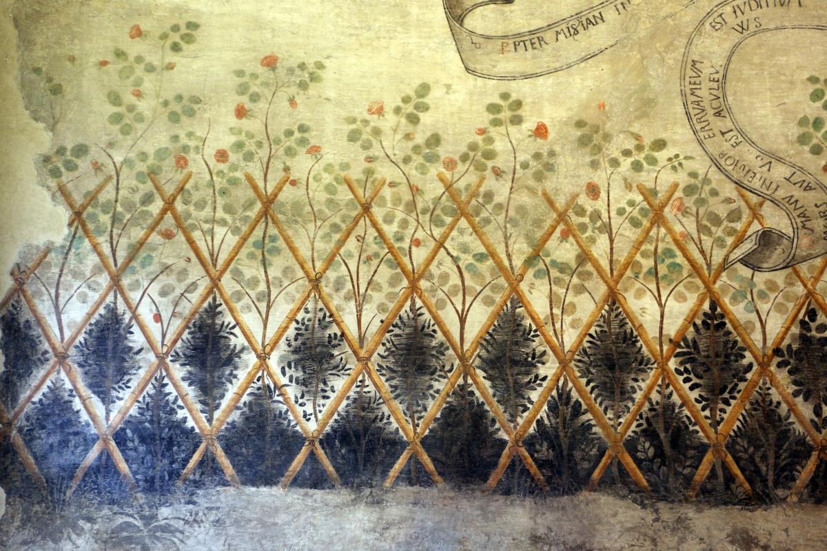 Casa romei, sala dei profeti, 03 incannicciato, 1450 ca - Sailko - Ferrara (FE)