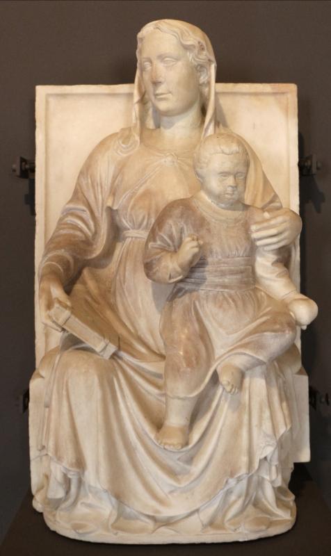 Madonna col bambino, xv secolo, dal piccolo chiostro della certosa di ferrara, 0 - Sailko - Ferrara (FE)