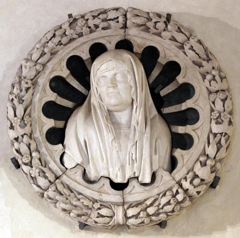 Luigi montagnana, frammenti dal monumento funeraio di romasina gruamonti estense, da s. andrea a ferrara, 1498, 02 - Sailko - Ferrara (FE)