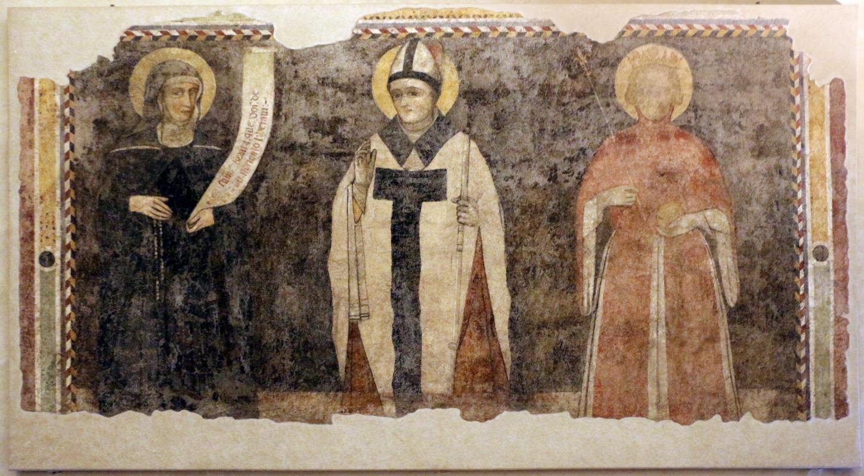 Antonio alberti (scuola), ss. gismonda, tommaso e libera, 1400-20 ca., da s. guglielmo a ferrara 0 - Sailko - Ferrara (FE)
