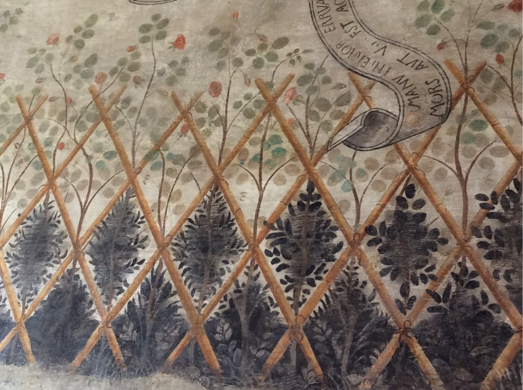 Steccato di canne sala Profeti Casa Romei (Ferrara) - Nicola Quirico - Ferrara (FE)