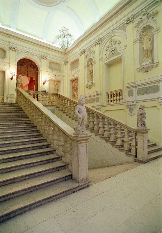 Palazzo di Renata di Francia. Scalone - baraldi - Ferrara (FE)