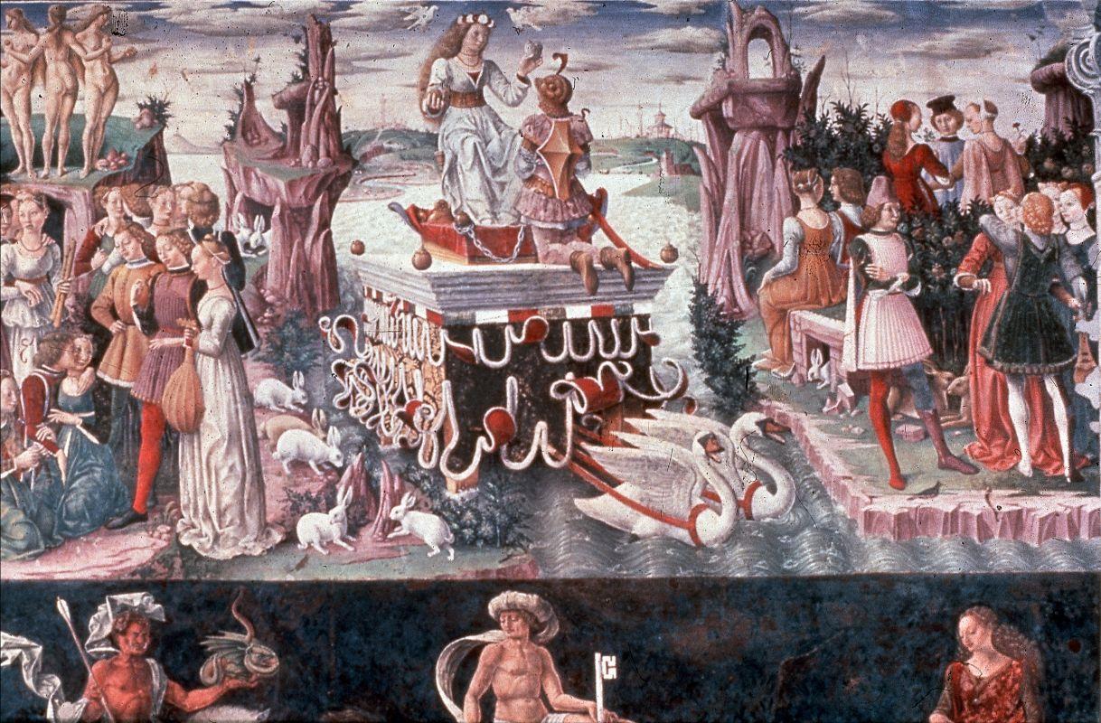 """Palazzo Schifanoia. """"Trionfo di Venere"""" - Baraldi - Ferrara (FE)"""