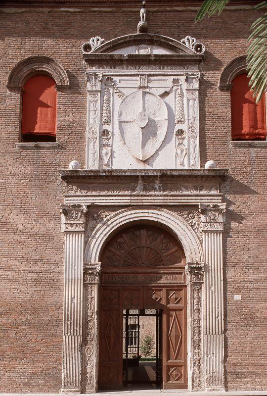 Palazzo Schifanoia. Portale - Baraldi - Ferrara (FE)