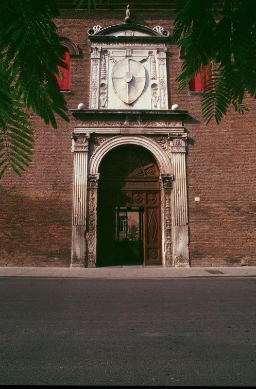 Palazzo Schifanoia. Portale - Rebeschini - Ferrara (FE)