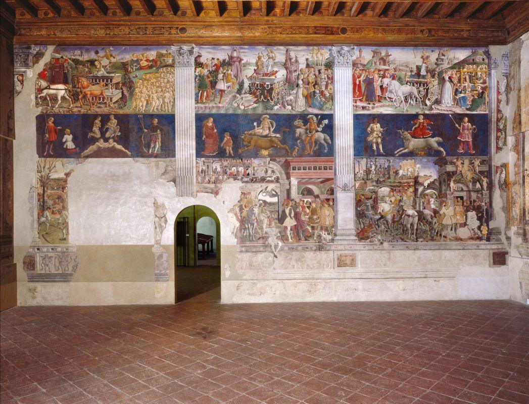 Palazzo Schifanoia. Salone dei Mesi. Parete est - anonimo - Ferrara (FE)