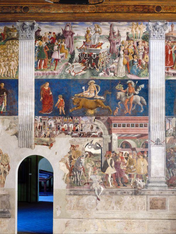 Palazzo Schifanoia. Salone dei Mesi. Aprile - anonimo - Ferrara (FE)